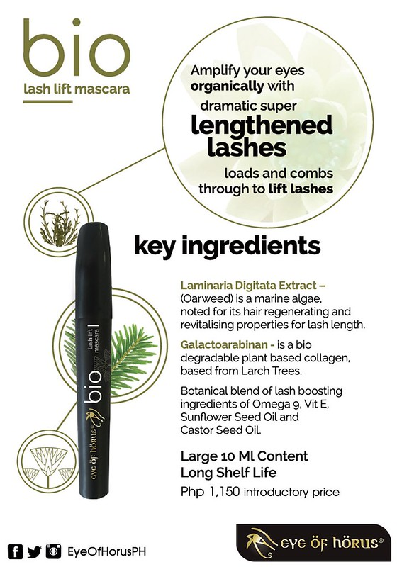 EOH Vegan Mascara Product Info