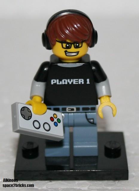 Minfig série 12 joueur de jeux vidéo p1