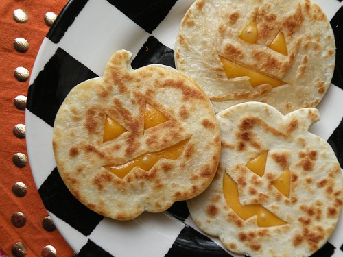 Mrs. Fields Secrets Jack-o-Quesadilla