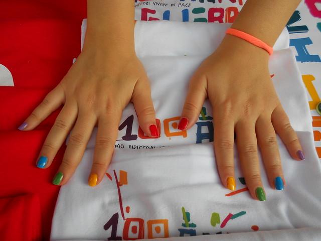 unghie, per la Pace, Assisi