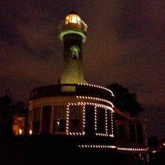 We stopped by Boathouse Row as we were near Philly today A little lighthouse!