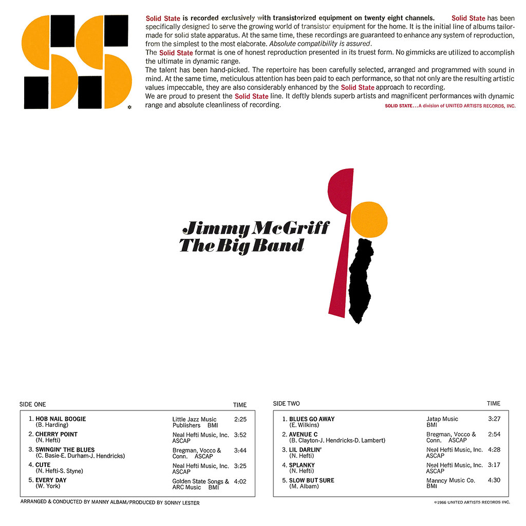 Jimmy McGriff - The Big Band
