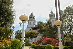 View of Hearst Castle, San Simeon, CA, KW