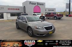 Congratulations to Amber Goins on your #Chrysler #200 purchase from Bill Reed at Four Stars Auto Ranch! #NewCar