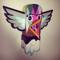 My new @alexyanes piece. Thanks to @thinkspace_art. #burdlife #madrespect