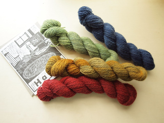 bartlettyarns miniskeins