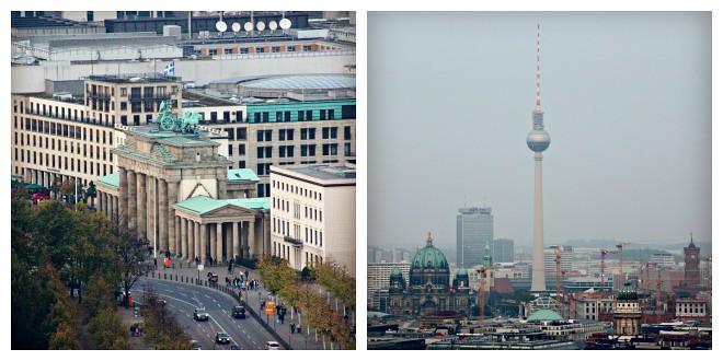 Brandenbourg Gate & Berlin Skyview
