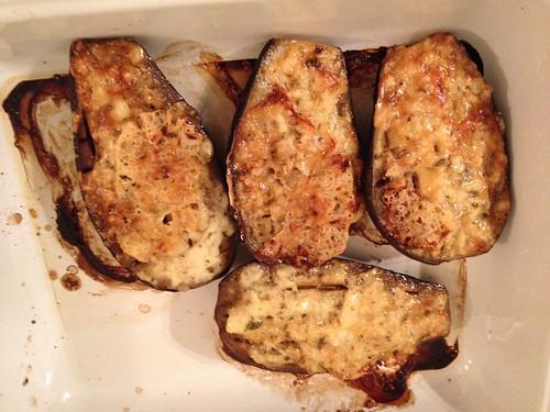 Aubergines au fromage
