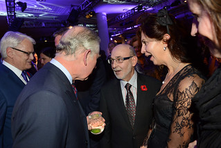 HRH Prince Charles gets SOME REACTION!