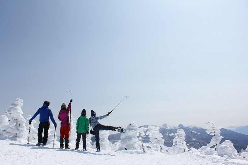 北横岳の集合写真