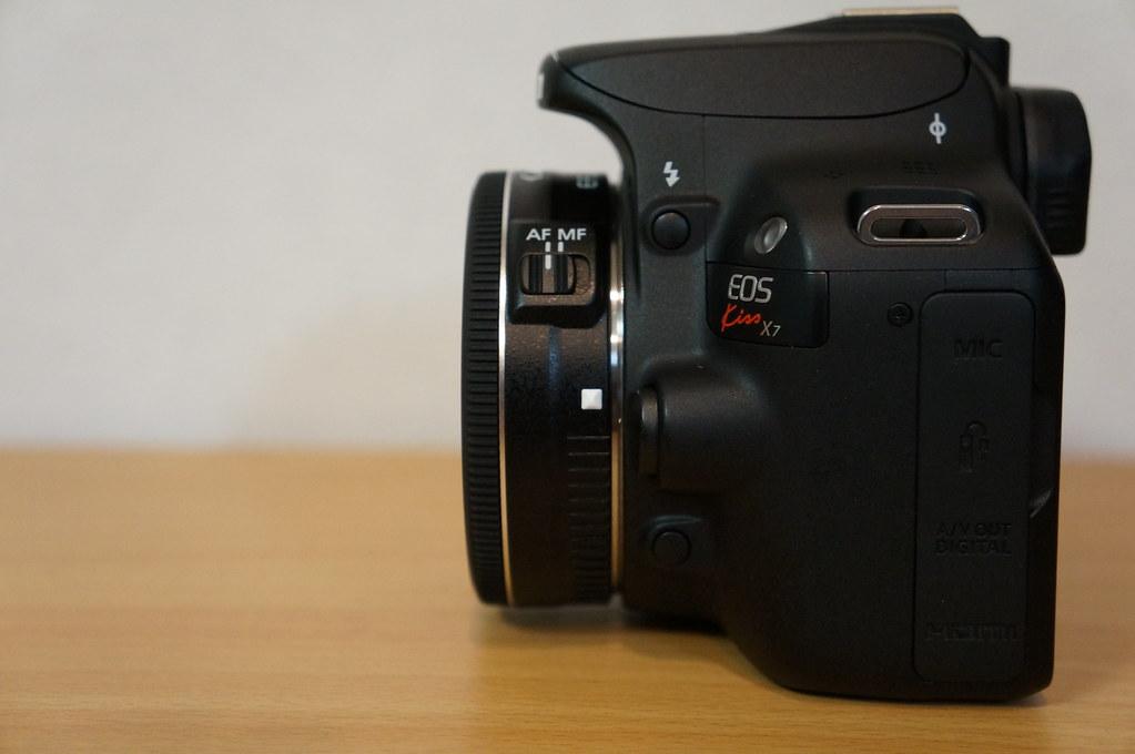 EF-S24mm F2.8 STM_EOS Kiss X7_真横