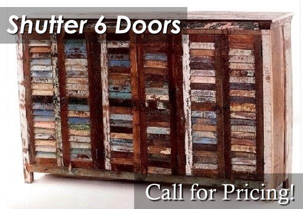 ALNW08S Shutter 6 Doors