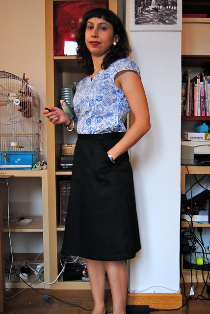 Alma Blouse and Cambie Skirt