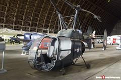 129313 - 4-22 - Kaman HTK-1 - Tillamook Air Museum - Tillamook, Oregon - 131025 - Steven Gray - IMG_8008