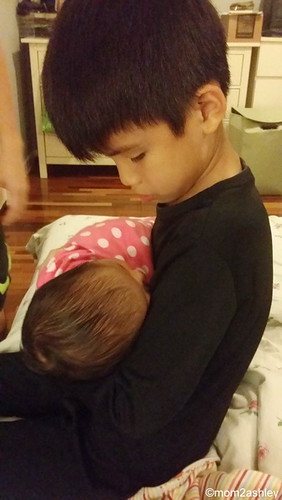 8Oct2014-Aidan and Amelie