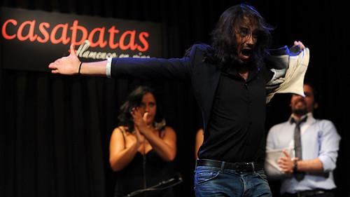 """José Carmona """"Rapico"""" bailando en Casa Patas. Foto: Martín Guerrero"""