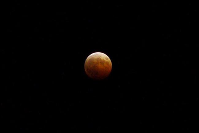 2014/10/08の皆既月食