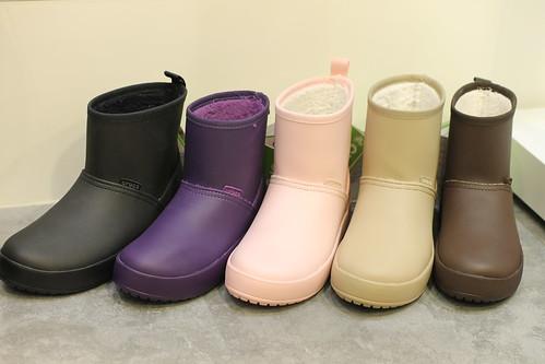クロックス カラーライト ブーツ ウィメン crocs ColorLite boot w