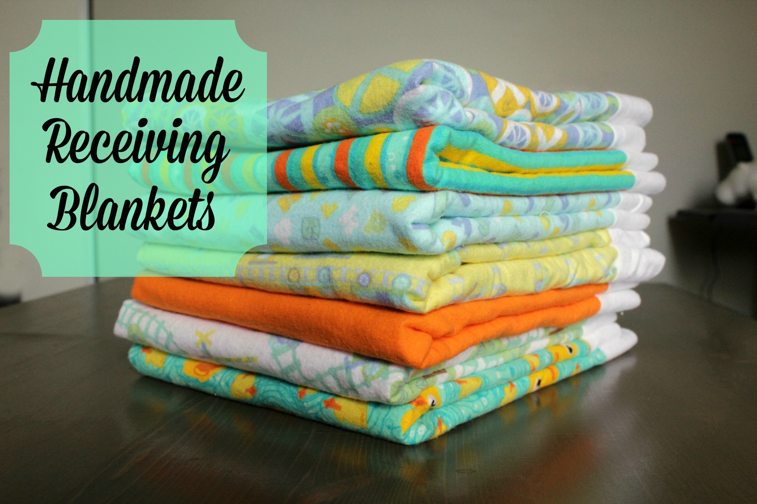 handmade receiving blankets