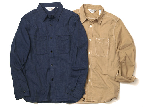 Five Brother / Color Chambray Workshirt
