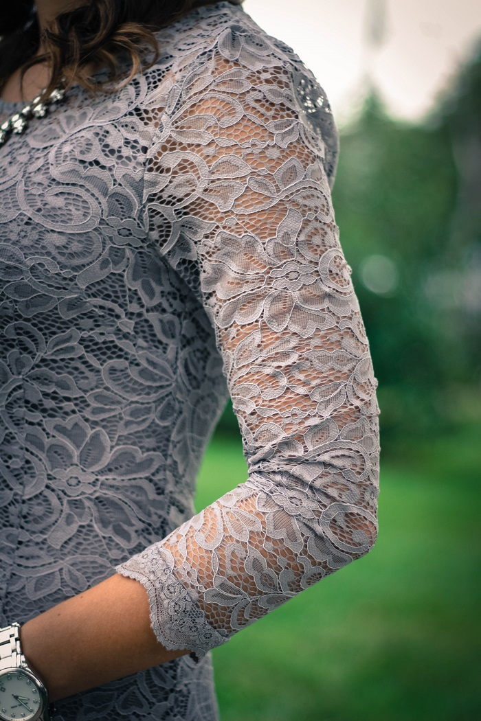 piperlime collection lace dress. grey pumps. chinese laundry scallopped heels va darling. dc style fashion blogger. 6