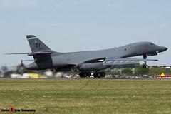 85-0061 - 21 - USAF - Rockwell B-1B Lancer - Fairford RIAT 2006 - Steven Gray - CRW_1805