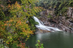 Hurricane Falls in Tallulah Gorge