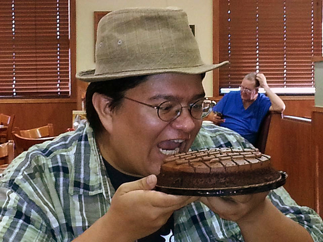 Birthday Moose meets Birthday Cake