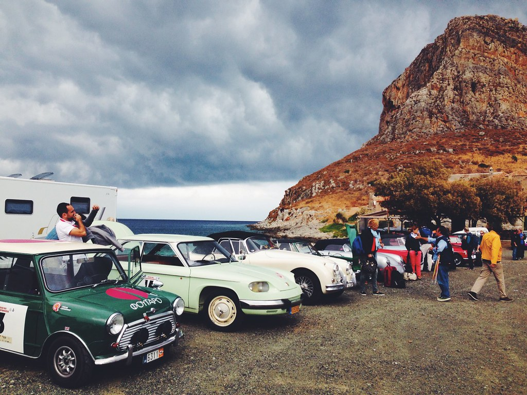 Cars in Monemvasia