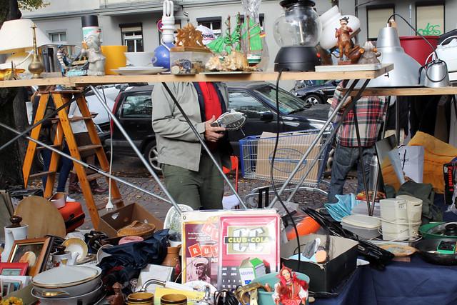 Берлин блошиный рынок