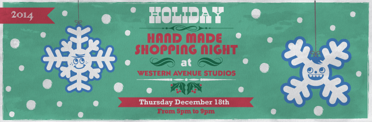 HANDMADE HOLIDAY SHOPPING NIGHT