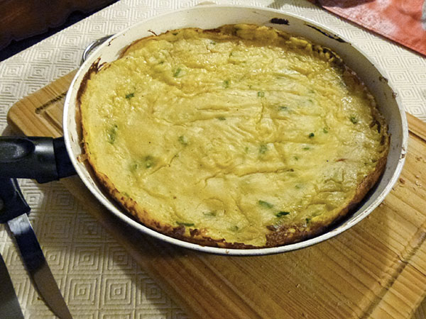 gâteau de pomme de terre