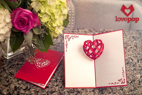 Pop-Up Valentine Card - LovePop