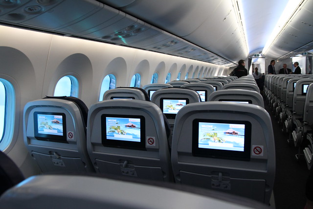787 Dreamliner seating