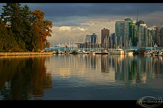 Evening Light in Vancouver