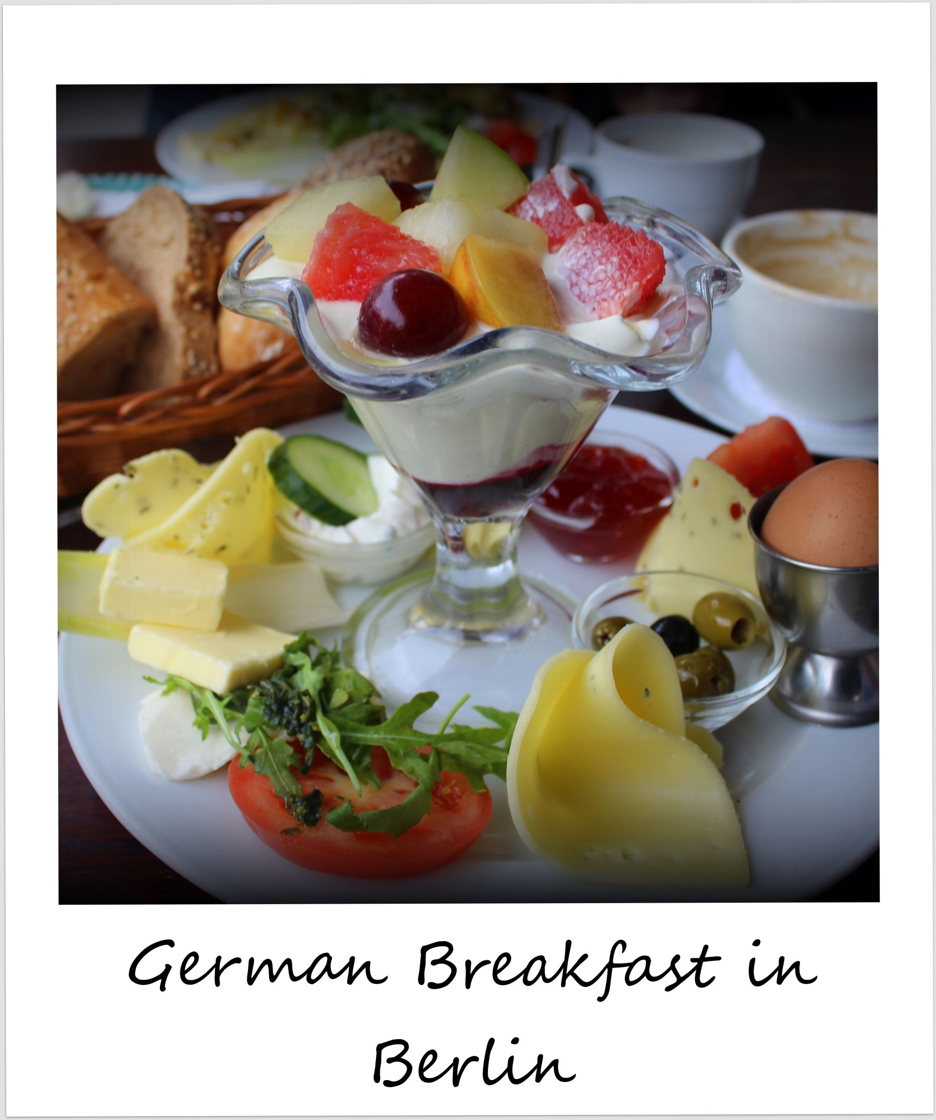 polaroid of the week germany berlin breakfast