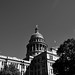 Texas Capitol Building Caught in the Midday Sun (Black & White)