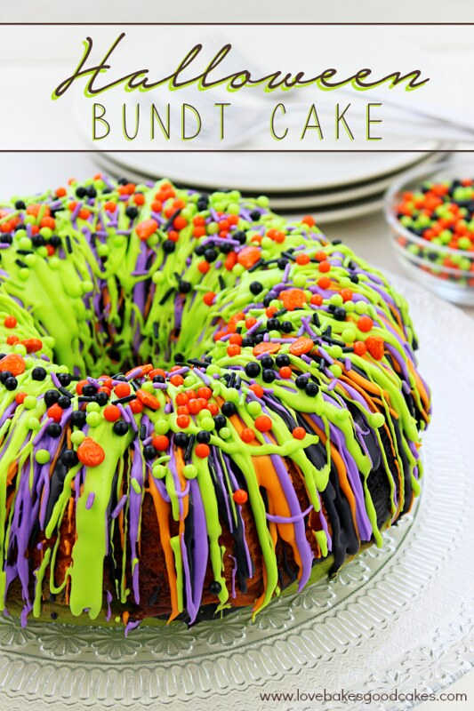 oooh and aah your guests with this impressive halloween bundt cake - Easy To Make Halloween Cakes