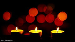 The three brave candles