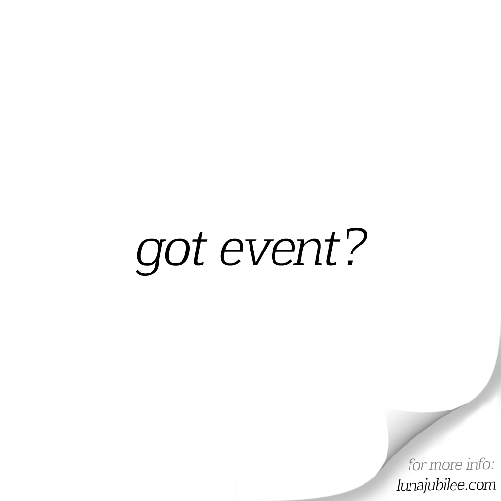 Got Event? is now open