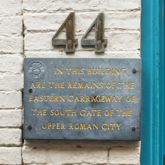 Photo of Slate plaque number 32937