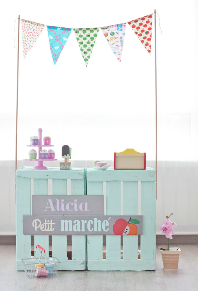 Decoración infantil con washi tape
