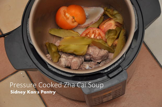 Recipe Zha Cai Soup at Sidney's Pantry 1