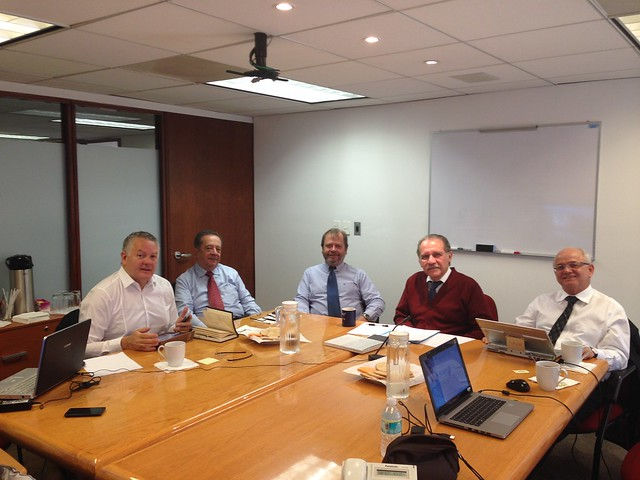 El Directorio del GLENIF se reunió en México
