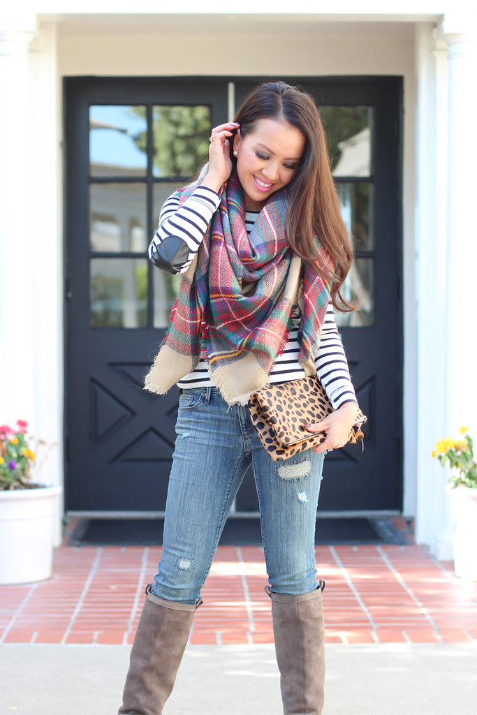 Elbow Patches and Plaid-5