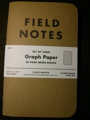 I like Field Notes
