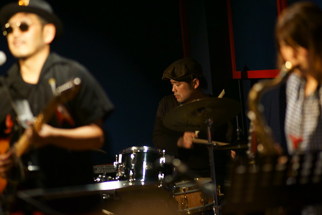 blues live at Blue Heat, Tokyo, 24 Oct 2014. 141