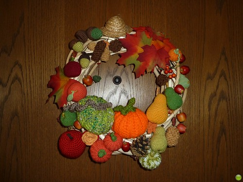 My door wreath :)