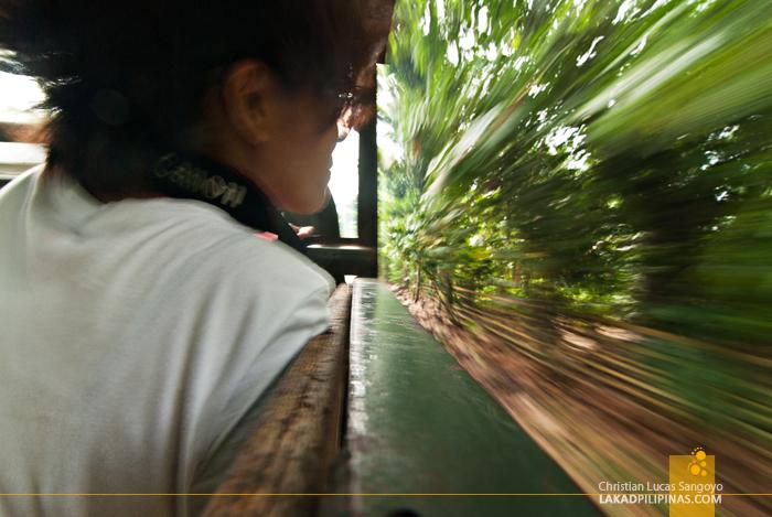 En Route to Kaunayan Elementary School in Patikul, Sulu