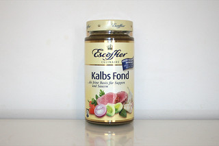 08 - Zutat Kalbsfond / Ingredient veal stock